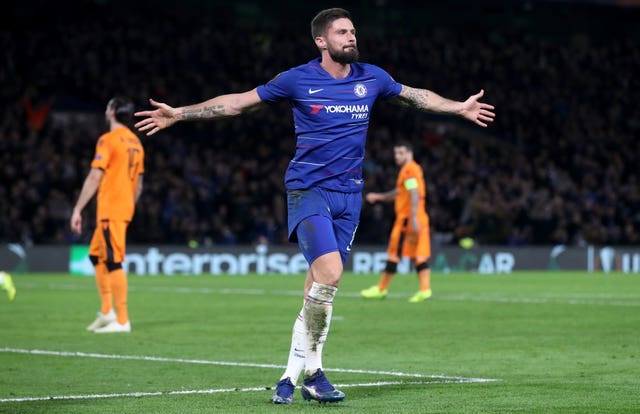 Olivier Giroud is the Europa League top-scorer this season