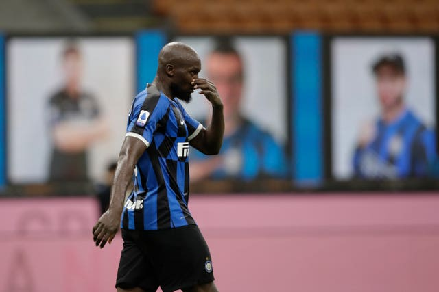 Inter Milan striker Romelu Lukaku endured frustration against Fiorentina