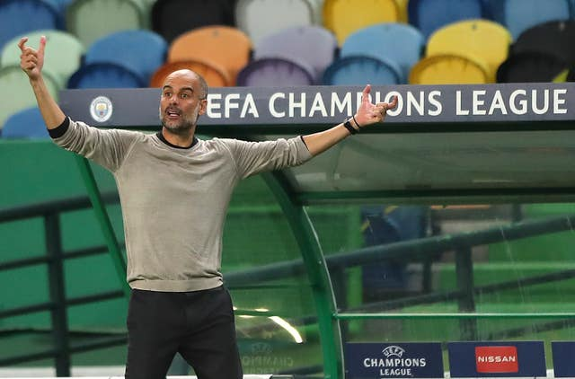 The Champions League remains out of reach for Pep Guardiola