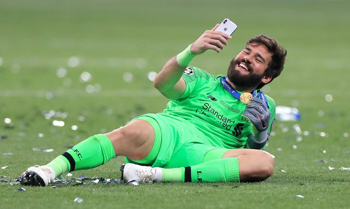 Alisson is Liverpool's number one goalkeeper