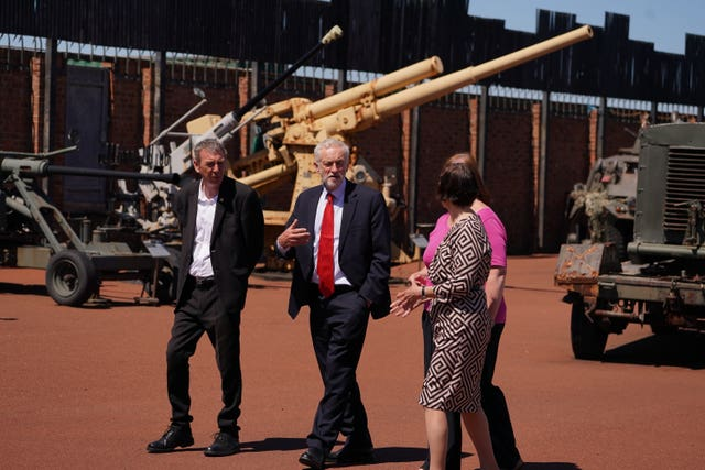 Labour announce military spending package