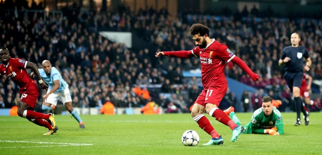 Mohamed Salah helped Liverpool eliminate Manchester City from the Champions League last season