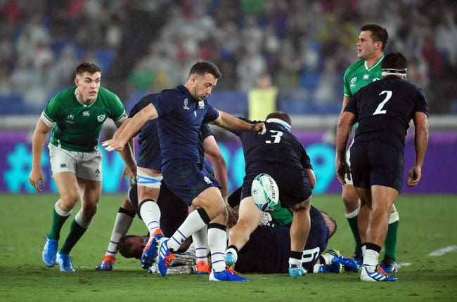 Laidlaw was unable to help Scotland get off to a winning start against Ireland