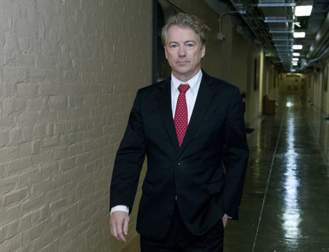 Senator Rand Paul was bitterly opposed to the bill (AP)