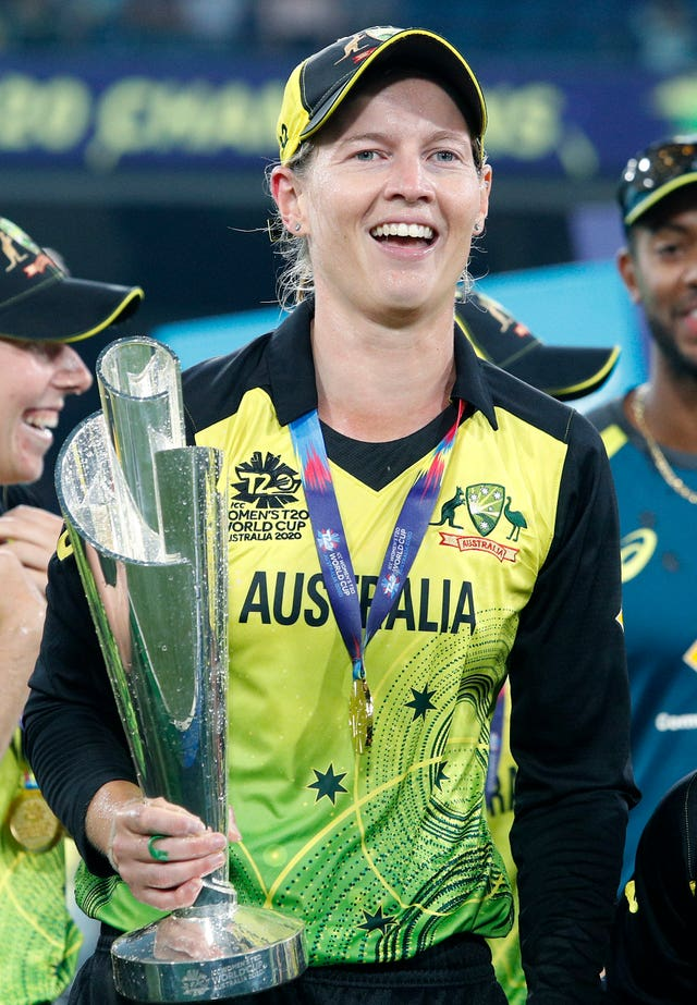 Australia captain Meg Lanning led her side to an 85-run victory over India in the ICC Women's T20 World Cup final in Melbourne