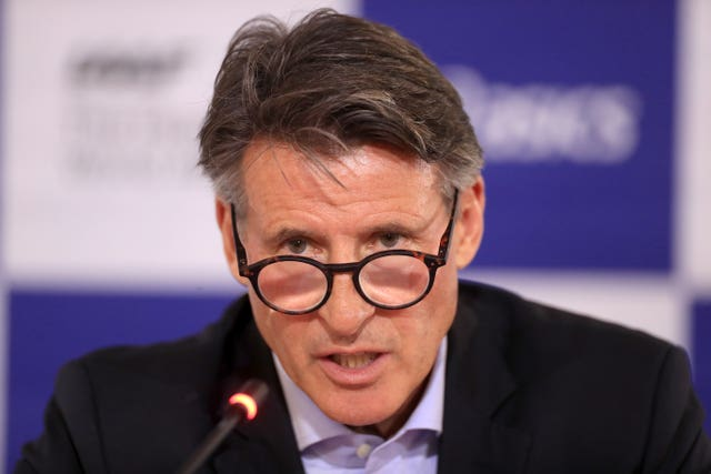 Lord Coe File Photo