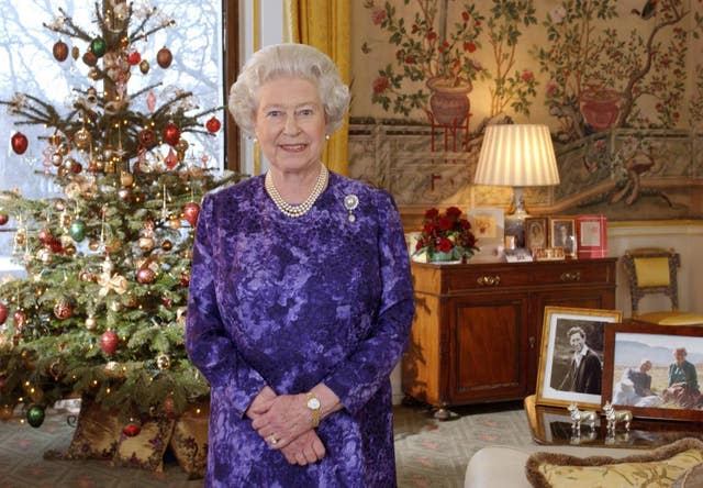 Queen Christmas Message 2014 (Fiona Hanson/PA)