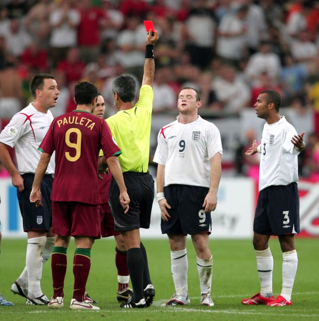 Soccer – FIFA World Cup Quarter Final – England v Portugal – Gelsenkirchen