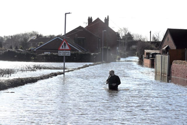 East Cowick flooding