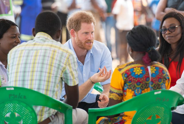 Royal visit to Africa – Day Nine