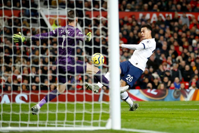 Dele Alli's goal was in vain as Tottenham were beaten
