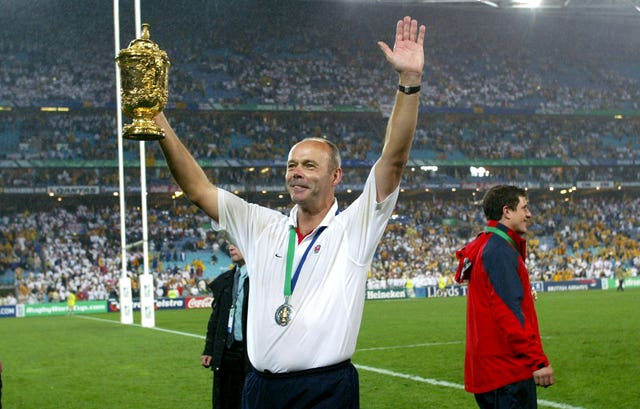 Head coach Clive Woodward masterminded England's triumph