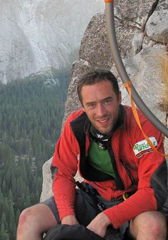 Undated handout photo of Andrew Foster who died shielding his wife from falling rocks at Yosemite National Park.