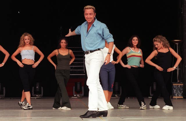 Ireland have been compared to Riverdance star Michael Flatley