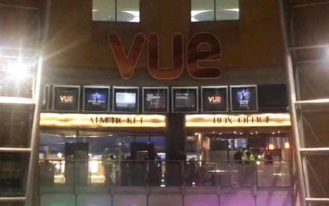 Police officers assaulted at Birmingham cinema