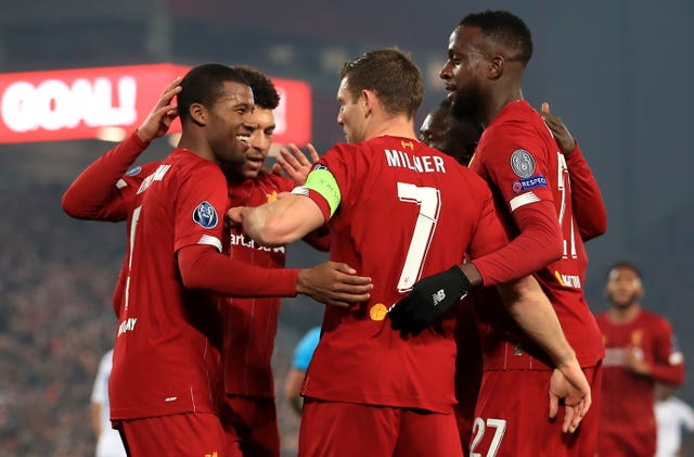 Liverpool will progress with victory at home to Napoli