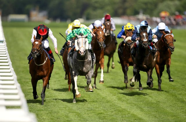 Free Eagle saw off The Grey Gatsby in a thrilling renewal of the Prince of Wales's Stakes at Royal Ascot