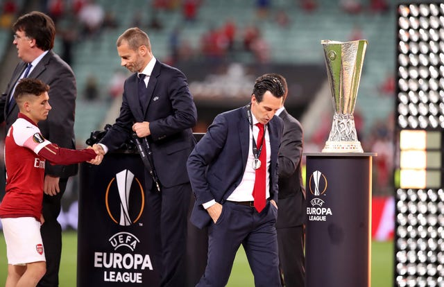 Unai Emery's Arsenal were well-beaten by Chelsea in last season's Europa League final.