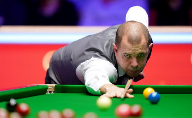 Barry Hawkins was a World Championship finalist in 2012 (John Walton/PA).