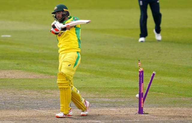 Glenn Maxwell played on for 77