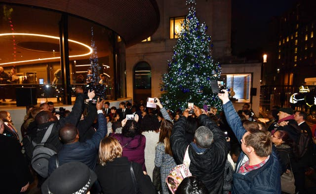 Scotland Yard Christmas Tree Appeal Launched