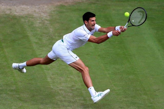 Ugo Humbert was no challenge for Djokovic