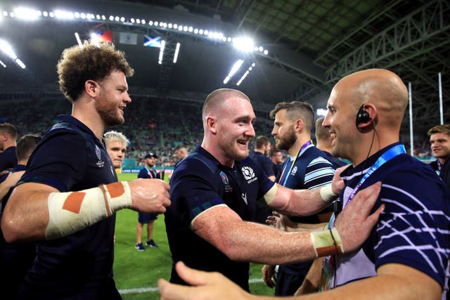 Scotland's Stuart Hogg has made a big impact out in Japan at the 2019 World Cup