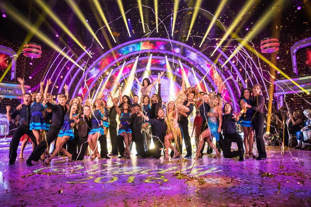 This year's Strictly stars