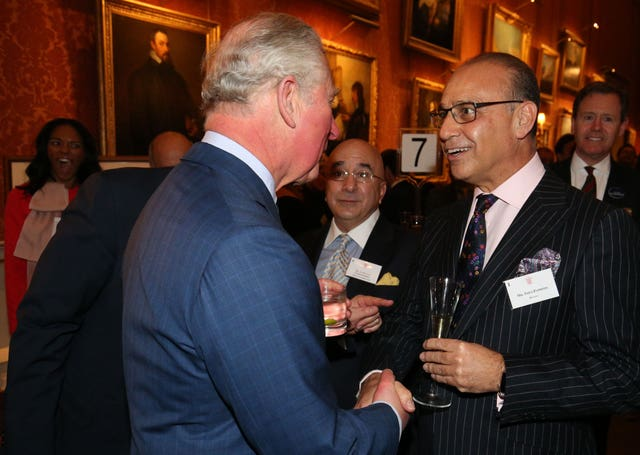 Charles speaks to Theo Paphitis