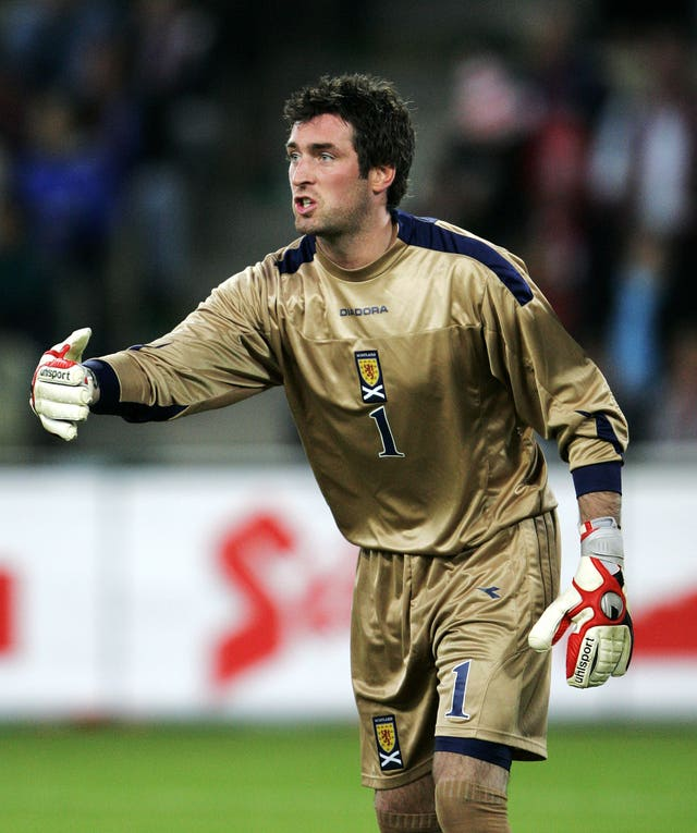 McGregor made his Scotland debut in Austria in 2007