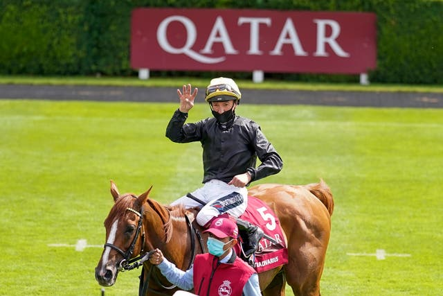 Stradivarius was a big winner for Frankie Dettori on Tuesday