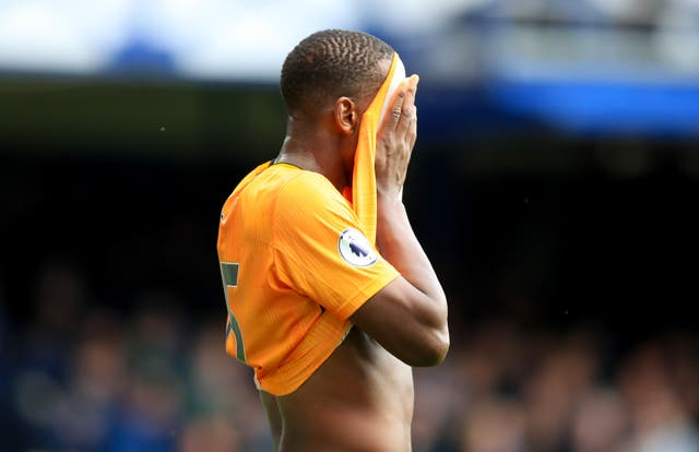 Willy Boly endured an afternoon to forget