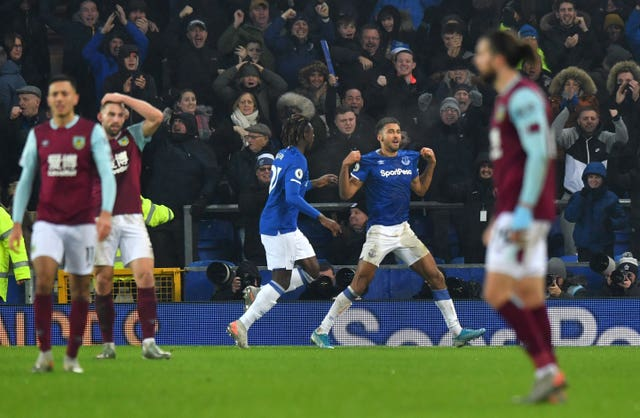 Dominic Calvert-Lewin scored Everton's winner on Boxing Day