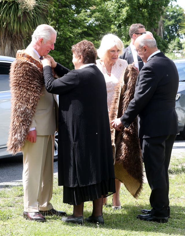 Royal visit to New Zealand – Day Six