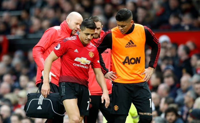 Alexis Sanchez's career stalled at Old Trafford