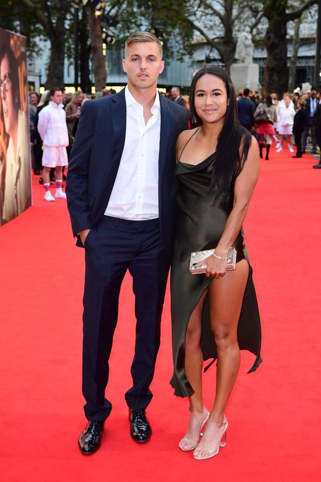 Lloyd Glasspool and Heather Watson  (Ian West/PA)