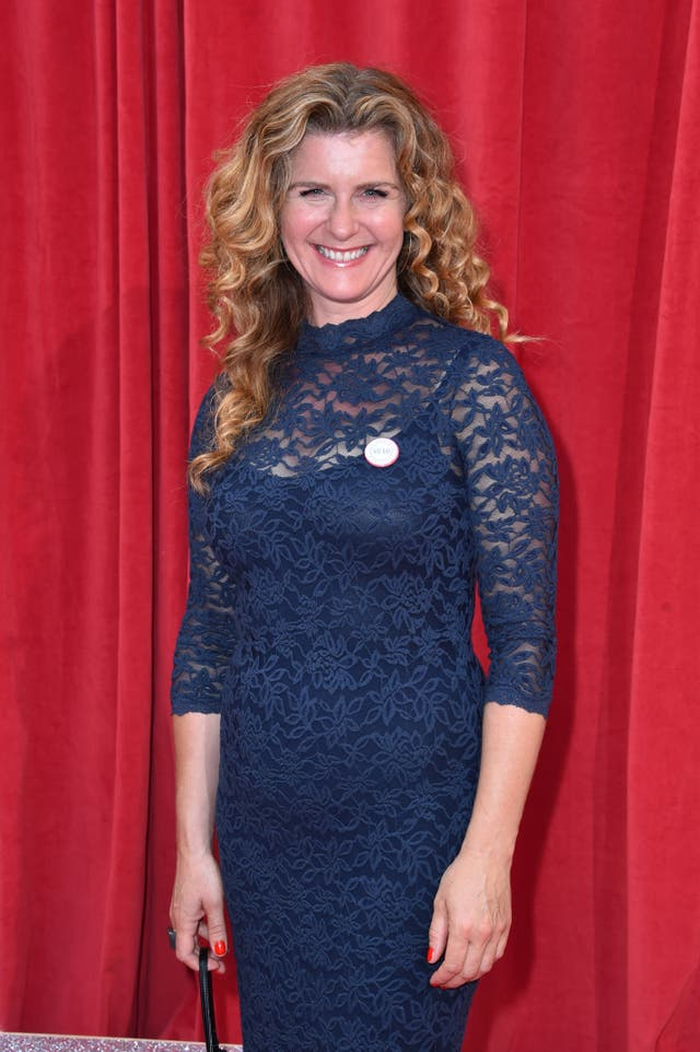 Connie Hyde on the red carpet