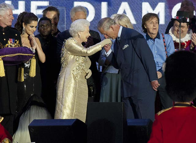 The Diamond Jubilee celebrations