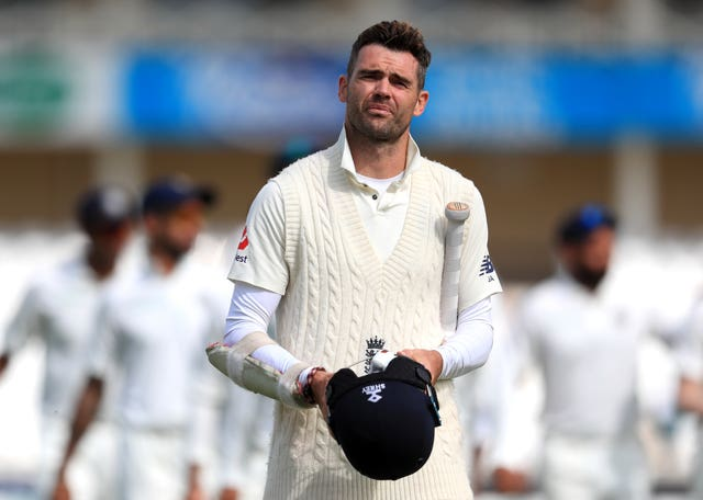 James Anderson is a doubt for the first Ashes Test (Mike Egerton/PA)