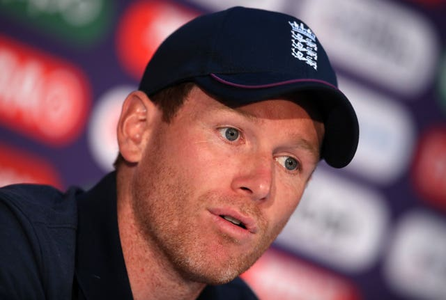 Eoin Morgan has brushed off talk of England feeling the pressure