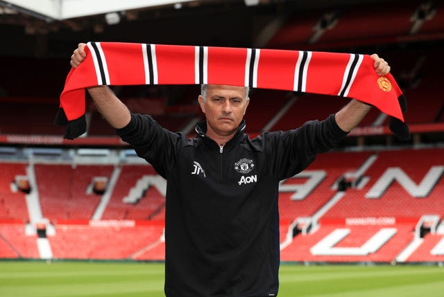 Mourinho was hired as Manchester United's manager