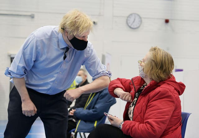 Boris Johnson visits Northern Ireland