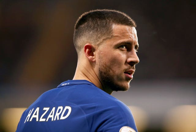 Eden Hazard will hope to claim a first FA Cup winners' medal with Chelsea on Saturday