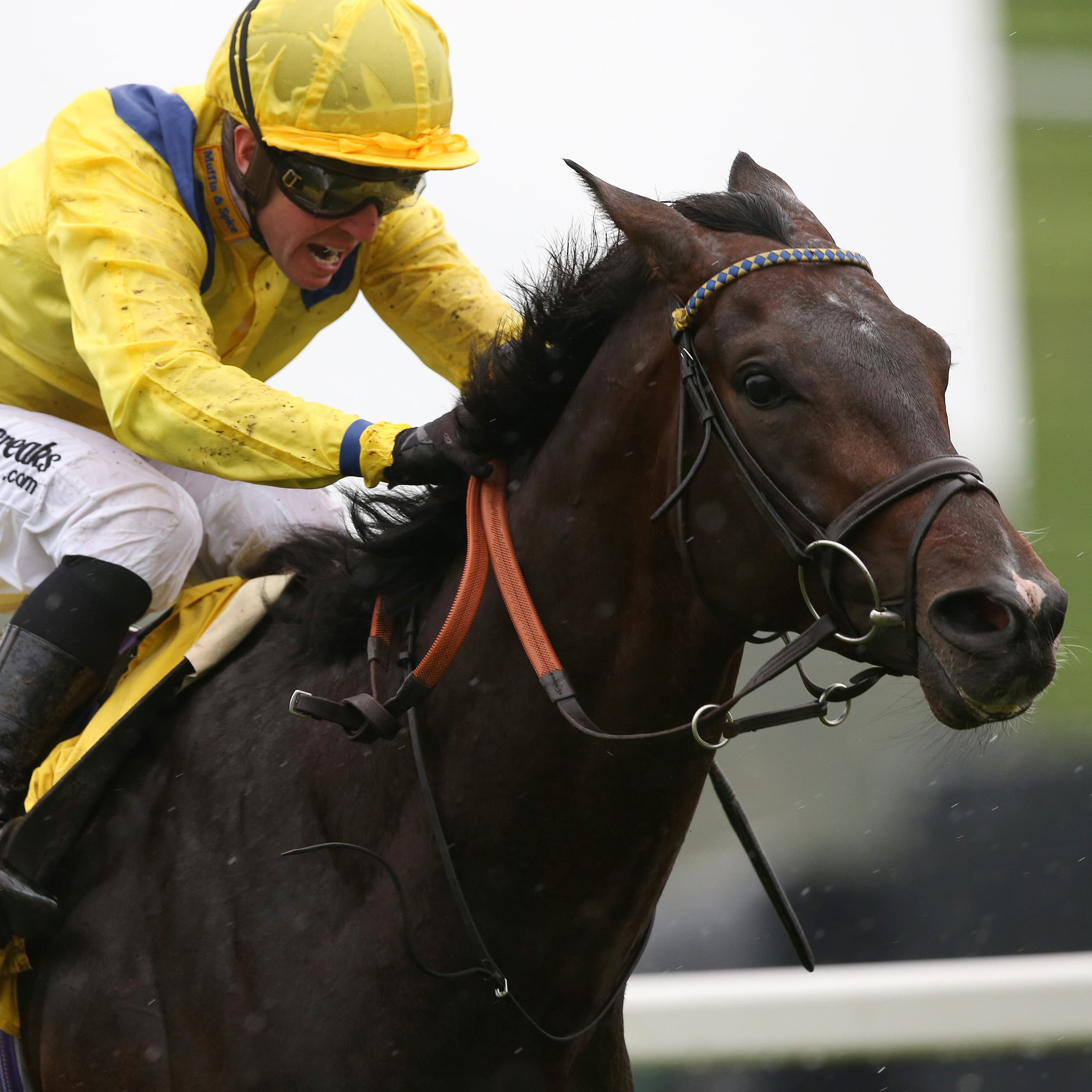 Young Rascal and Jim Crowley won the Dubai Duty Free Legacy Cup at Newbury