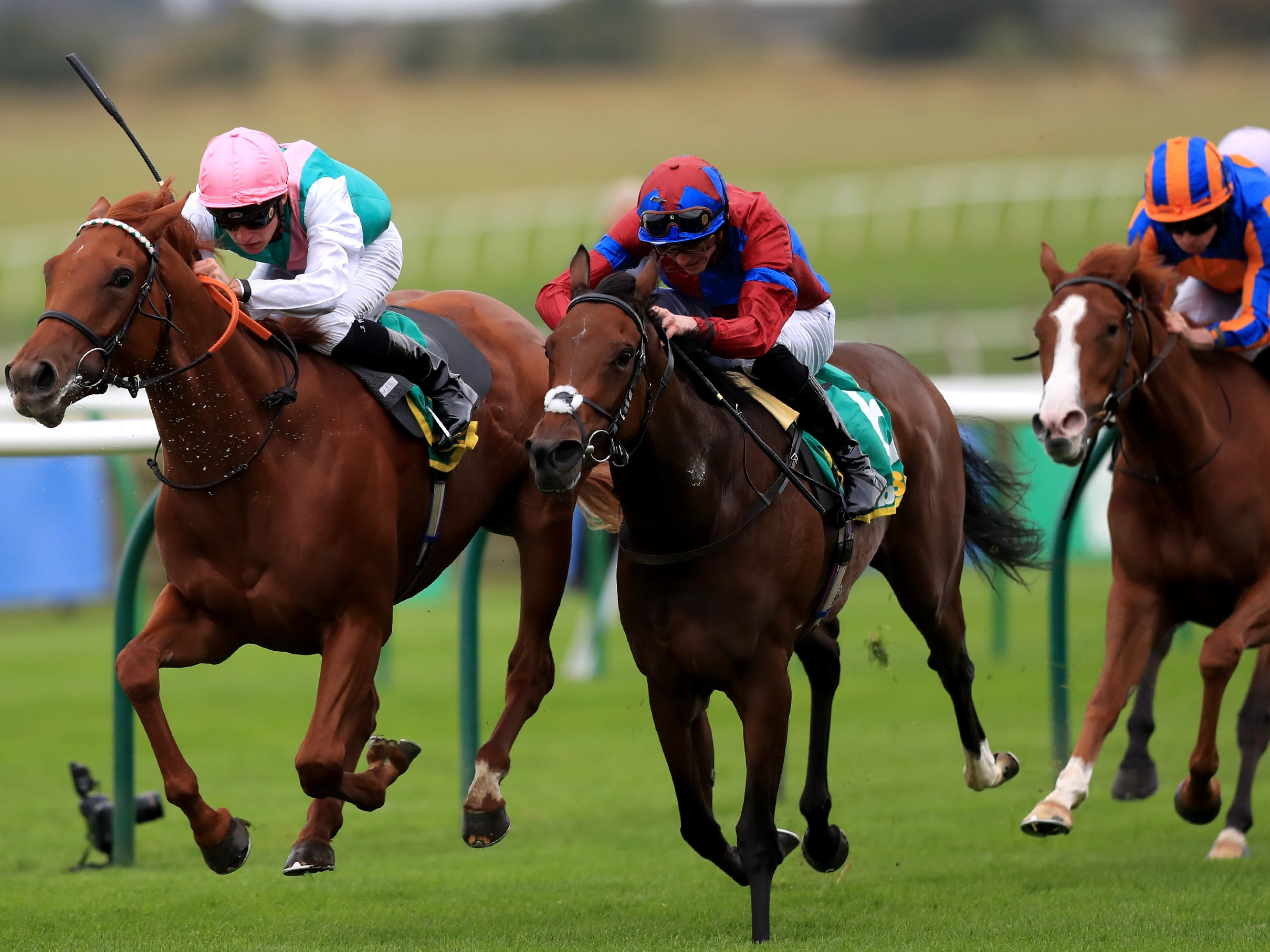 Powerful Breeze (right) is unlikely to run this season (Simon Cooper/PA)