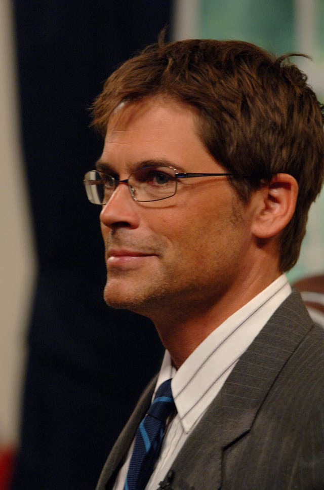 Rob Lowe guests on The Friday Night Project