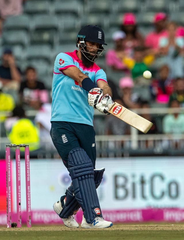 Moeen Ali saw England over the line
