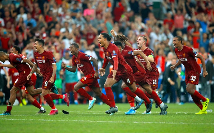Liverpool claimed another European trophy following recent glory in Madrid