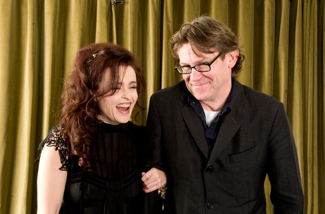 Helena Bonham Carter and Nigel Slater at a screening of Toast at Bafta in London. (Ian West/PA)
