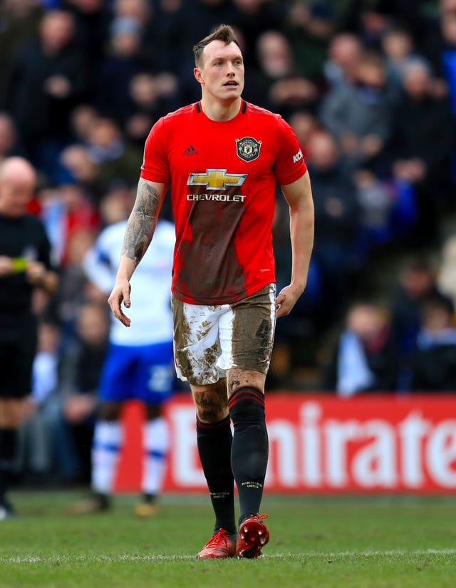 Phil Jones' last appearance came 13 months ago against Tranmere